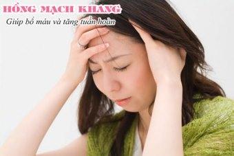 Huyết áp thấp, thiếu máu não, suy nhược cơ thể… đều có thể gây chóng mặt